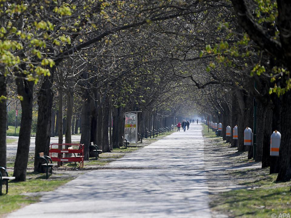 Die Bundeshauptstadt bietet zahlreiche öffentliche Grünflächen