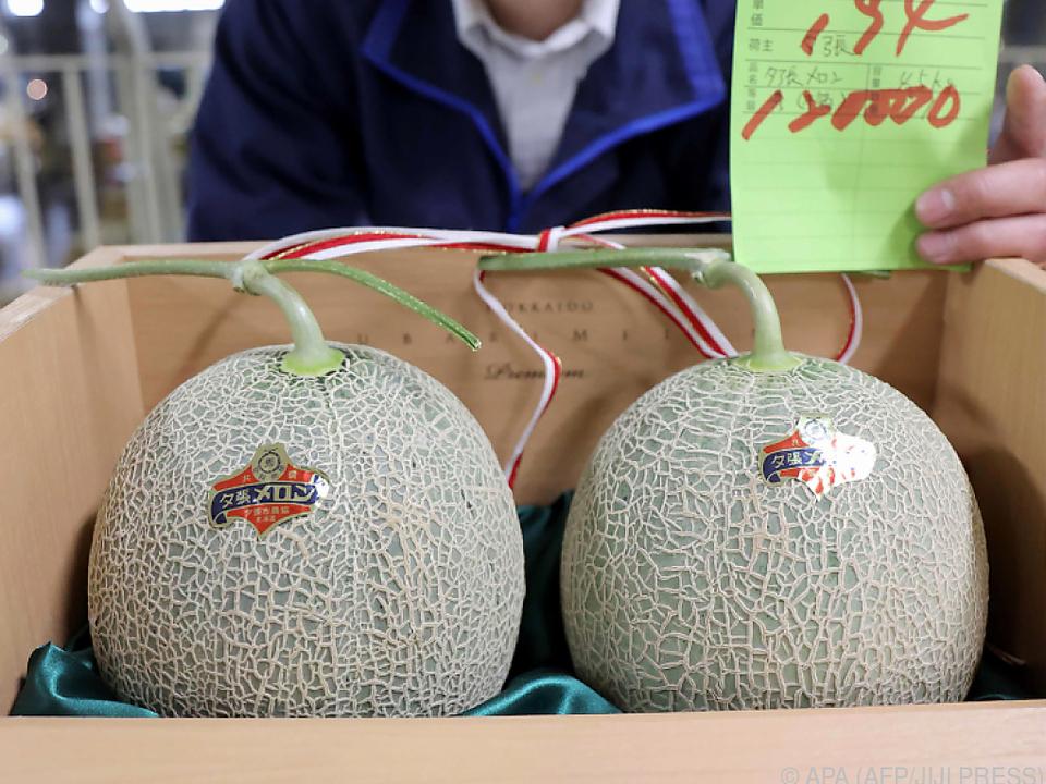 Die Coronakrise machte die berühmten Yubari-Melonen zu Schnäppchen