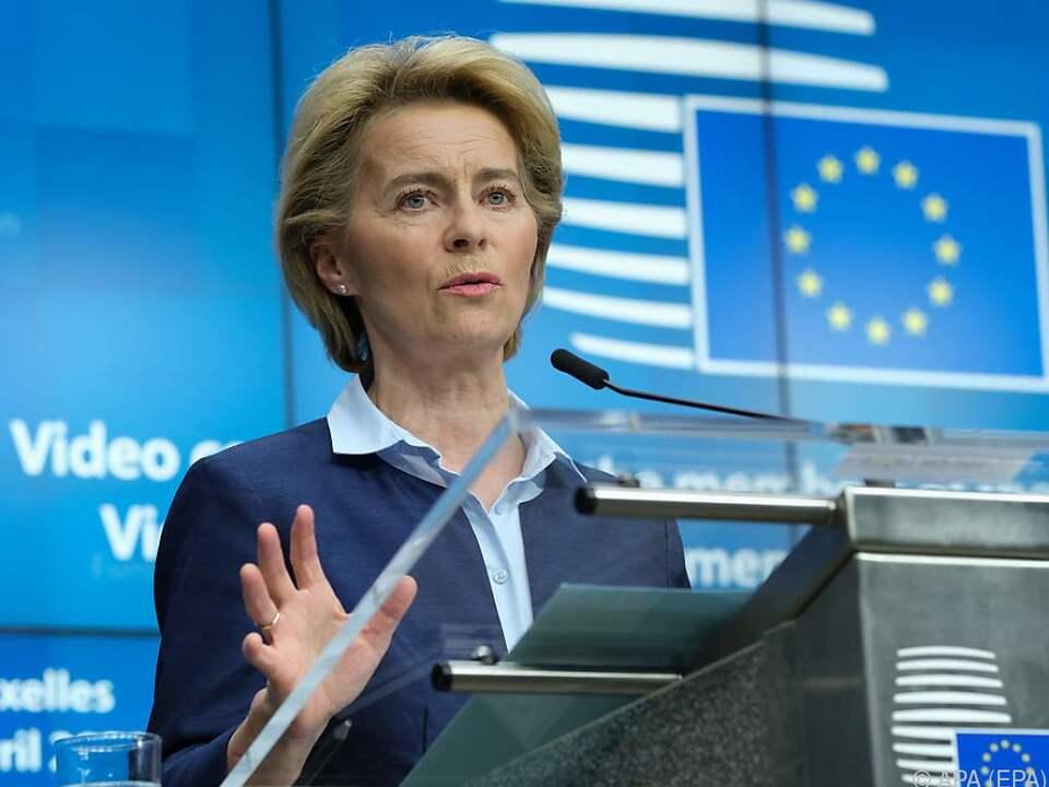 Die EU-Kommission will Hilfsgelder einsammeln