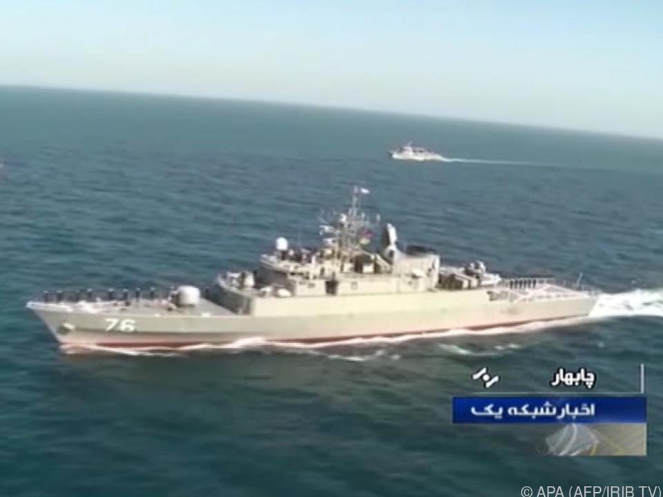 Die iranische Korvette \