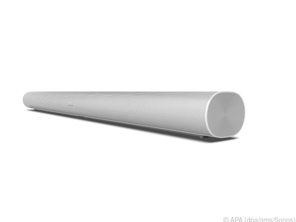 Die neue Soundbar Sonos Arc hat elf eingebaute Schallwandler