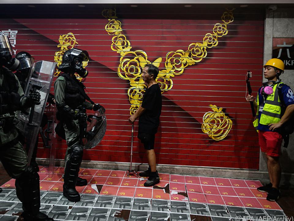 Die Proteste hielten Hongkong über Monate in Atem