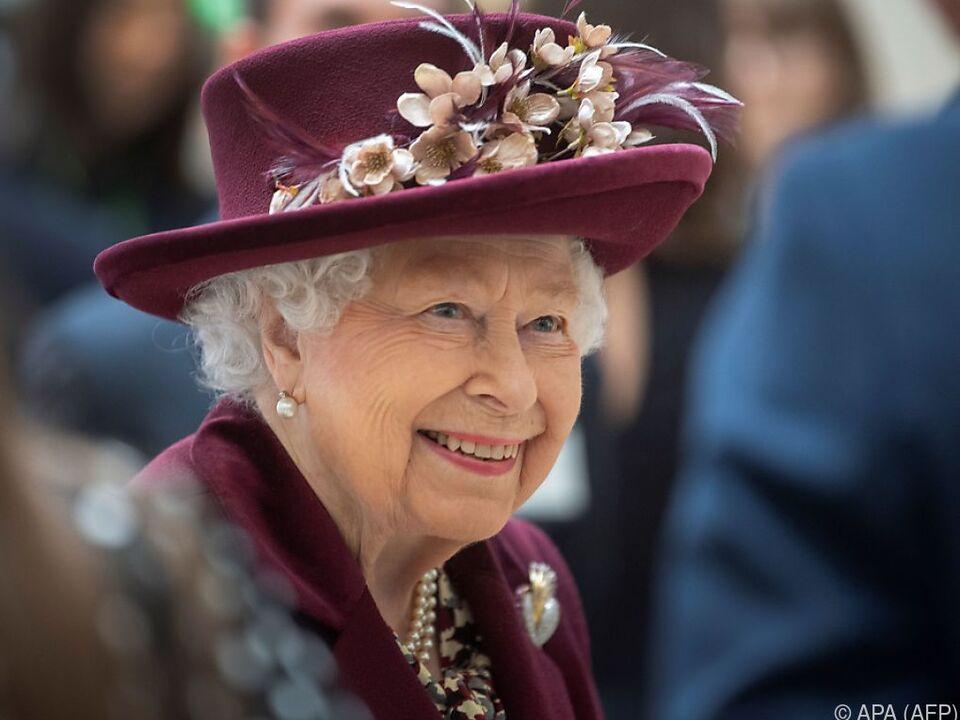 Die Queen ist auch in der Isolation ziemlich fleißig