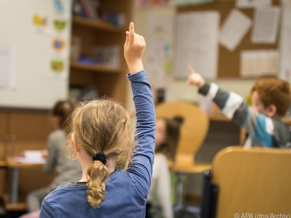 Die Stimmung der Schüler und Lehrer scheint positiv
