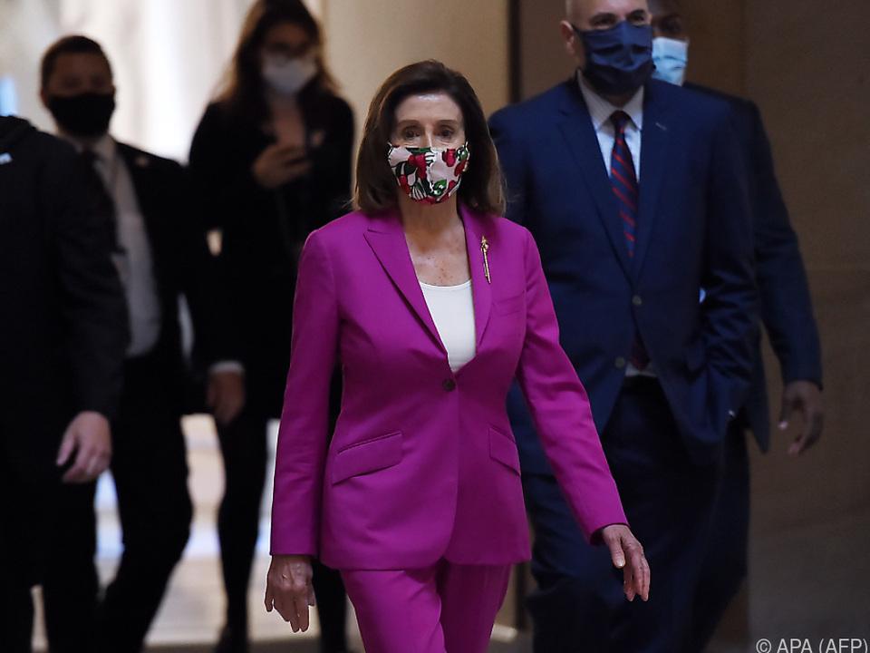 Die Vorsitzende des Repräsentantenhauses, Nancy Pelosi
