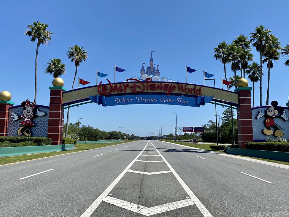 Disney-Parks bleiben in Coronakrise leer