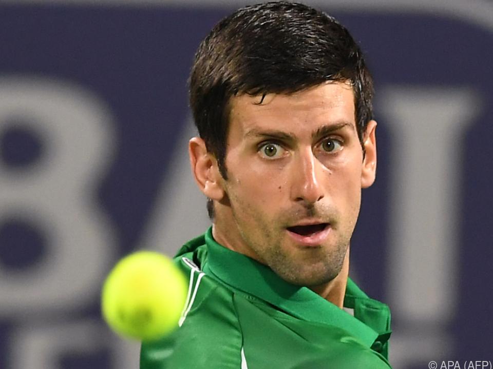 Djokovic plant Turnierserie