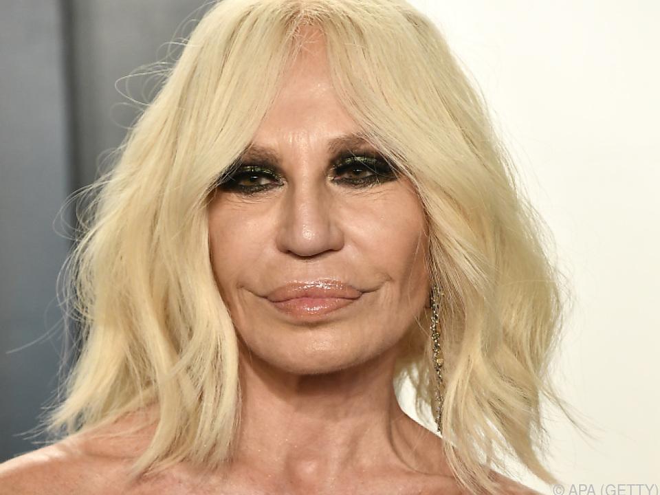 Donatella übernahm das Luxuslabel Versace 1997 nach Tod ihres Bruders