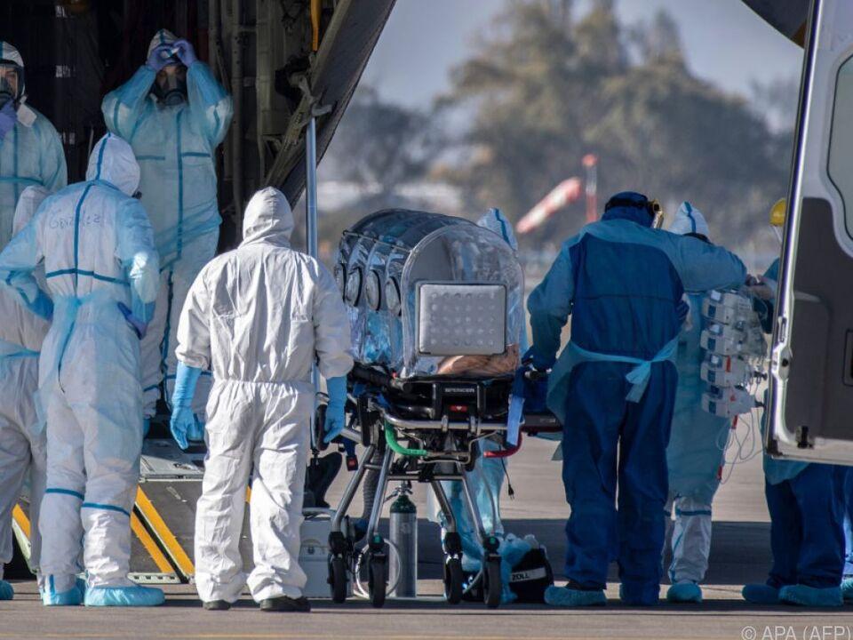 Drastischer Anstieg der Infektionszahlen in Chile