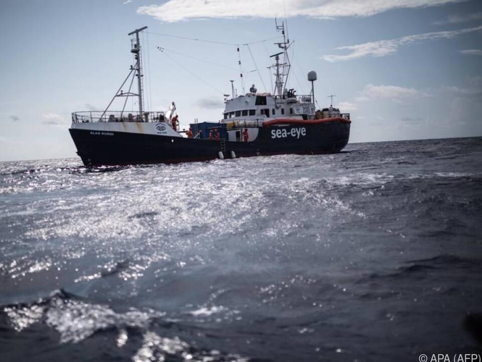 Eine Gefährdung der Menschen an Bord soll verhindert werden