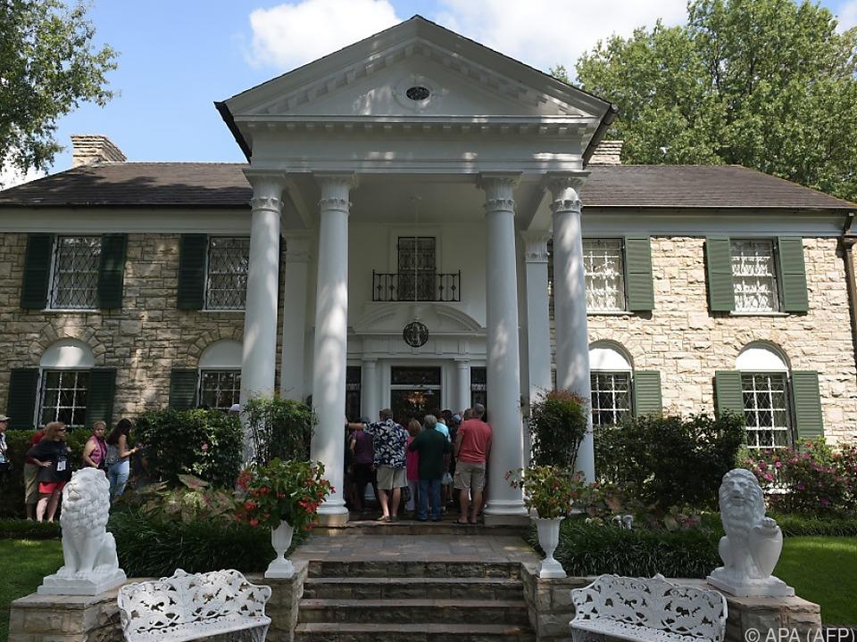 Elvis-Fans können die Villa ihres Idols wieder besuchen