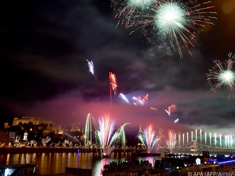 Entlang der Donau soll es ein riesiges Feuerwerk geben