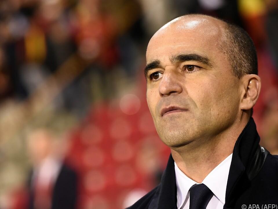 Erfolgsteamchef Roberto Martinez