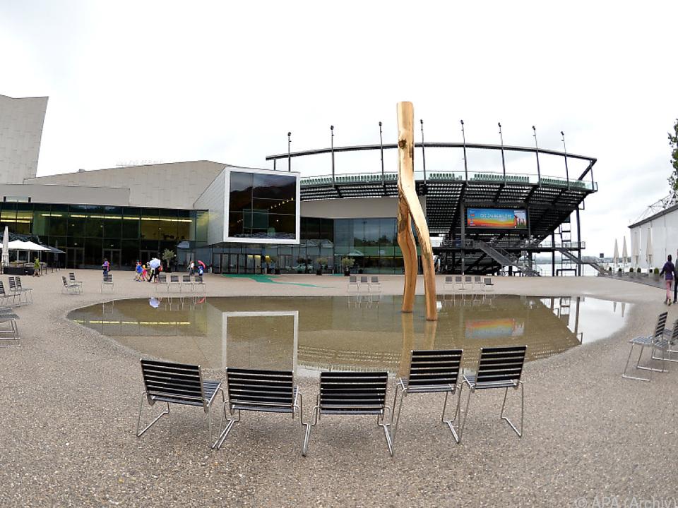 Festspielhaus und Seebühne in Bregenz