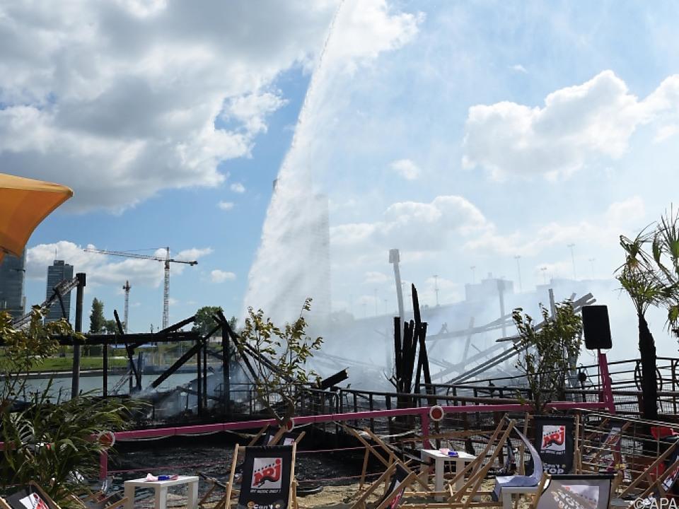 Feuerwehr hatte den Brand rasch unter Kontrolle