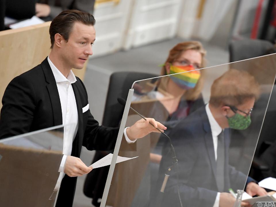 Finanzminister Blümel wies die Vorwürfe zurück