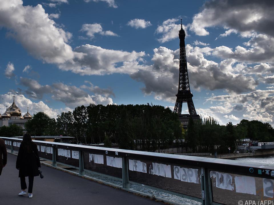 Frankreich ist von der Corona-Pandemie stark betroffen