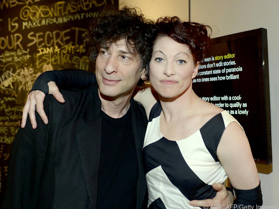 Gaiman wollte Ehefrau Palmer Raum verschaffen