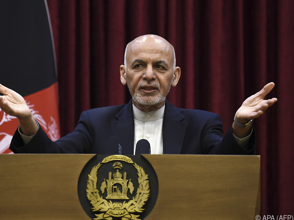 Ghani begrüßte die dreitägige Waffenruhe