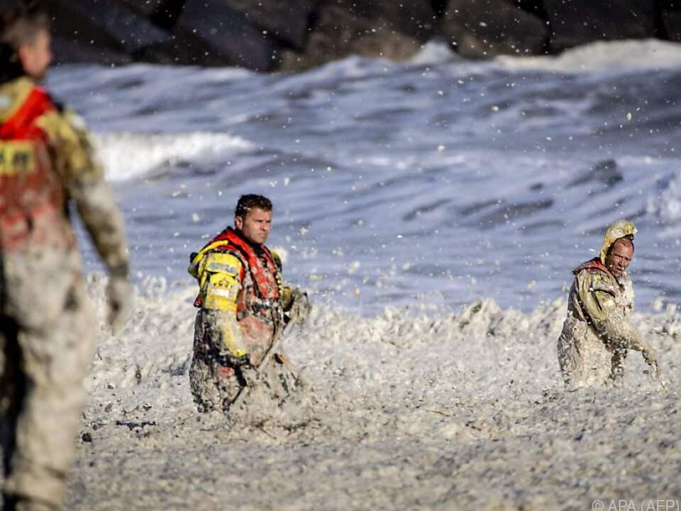 Heftiger Wind und starke Strömung wurde Surfern zum Verhängnis