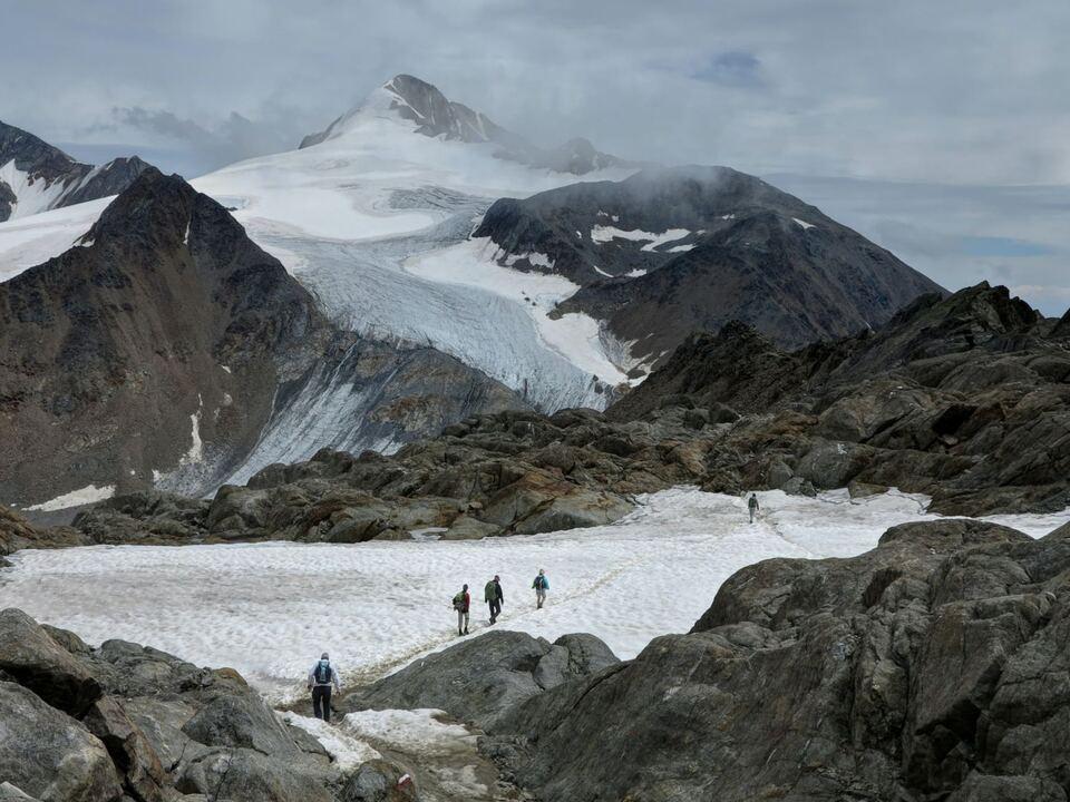 Schnee Gletscherschwund Skigebiete Klimawandel