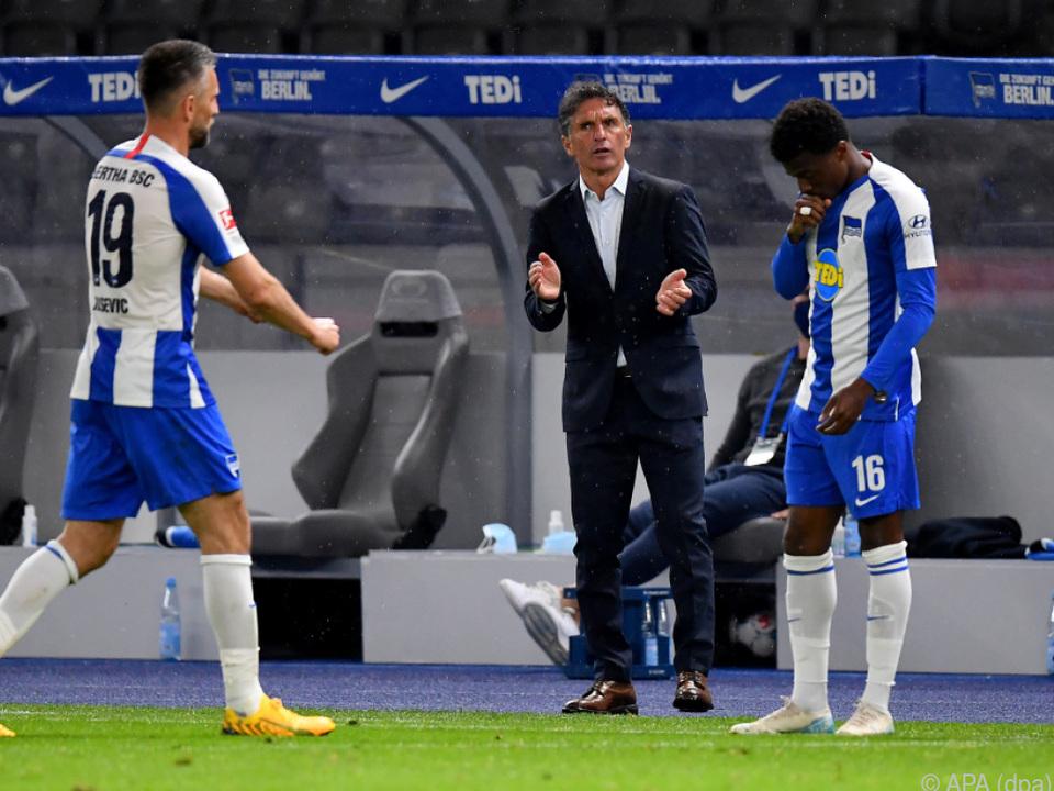 Hertha-Coach Labbadia mit tollem Start
