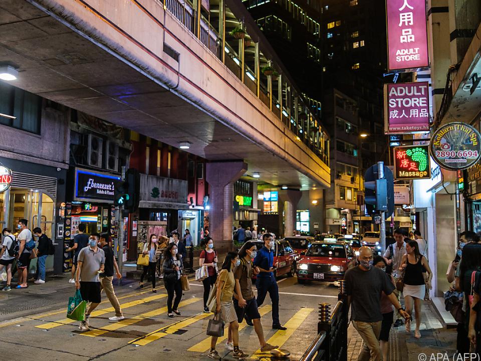 Hongkong wurde von den USA bisher anders behandelt als China