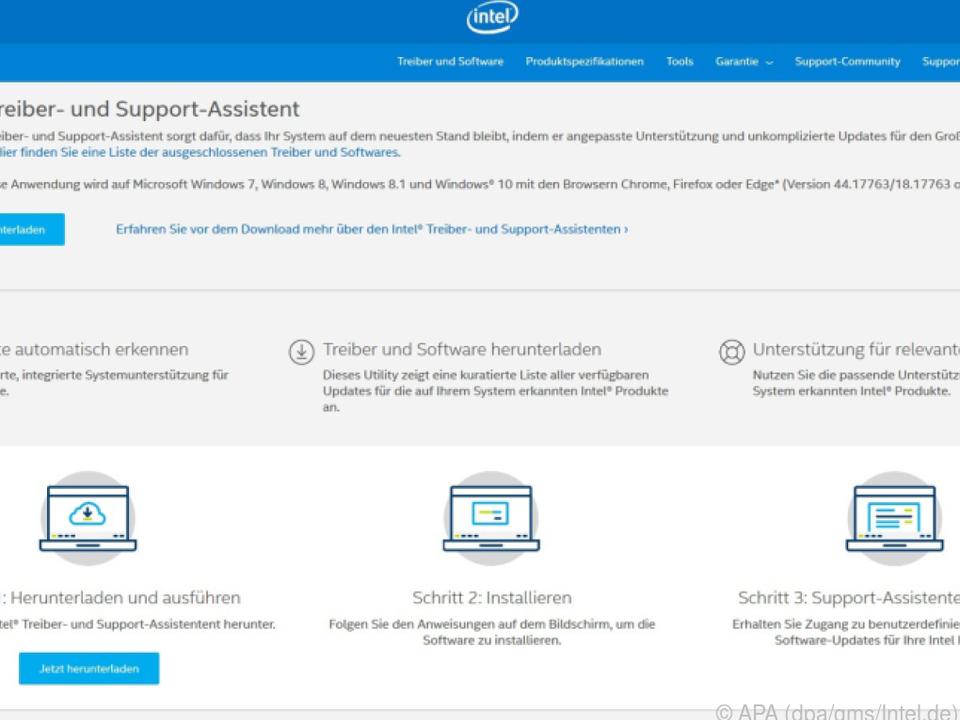 Intels Treiber- und Support-Assistent kümmert sich automatisch um Updates