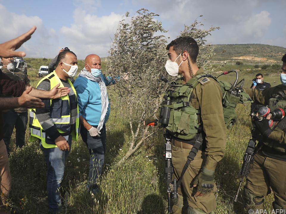 Israel will in den besetzten Gebieten anscheinend Tatsachen schaffen