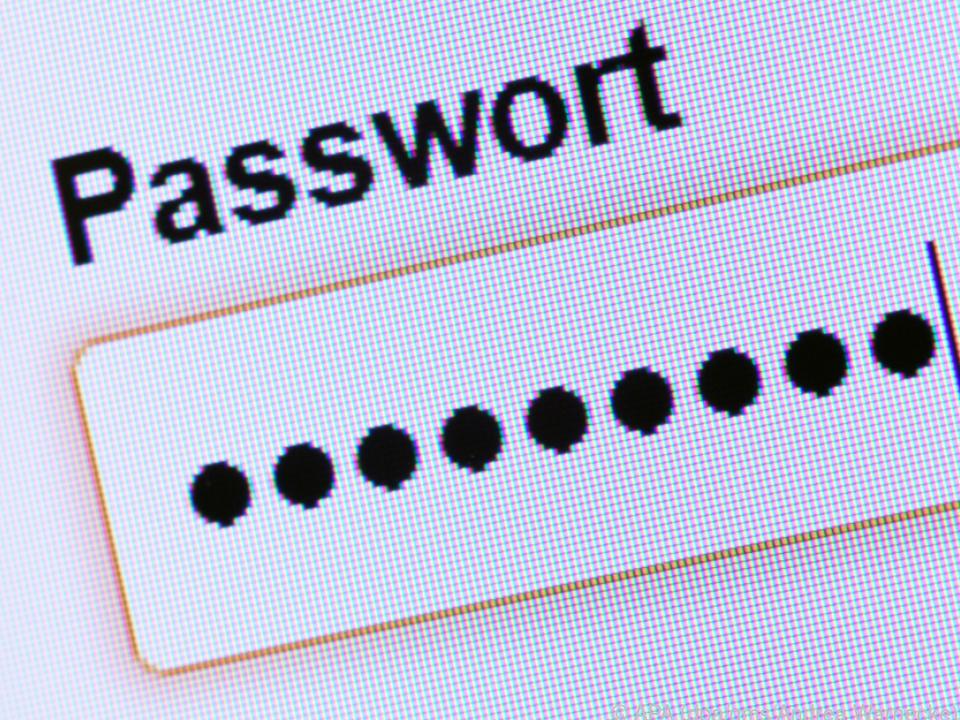 Je mehr Zeichen ein Passwort hat, desto sicherer ist es