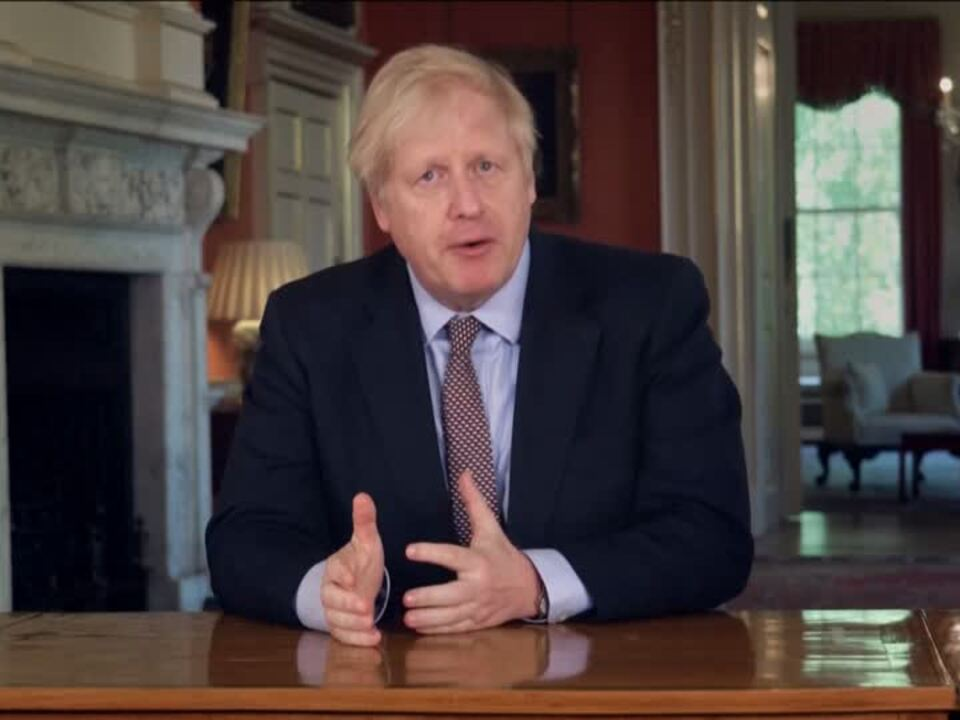 Johnson kündigt schrittweise Lockerungen an
