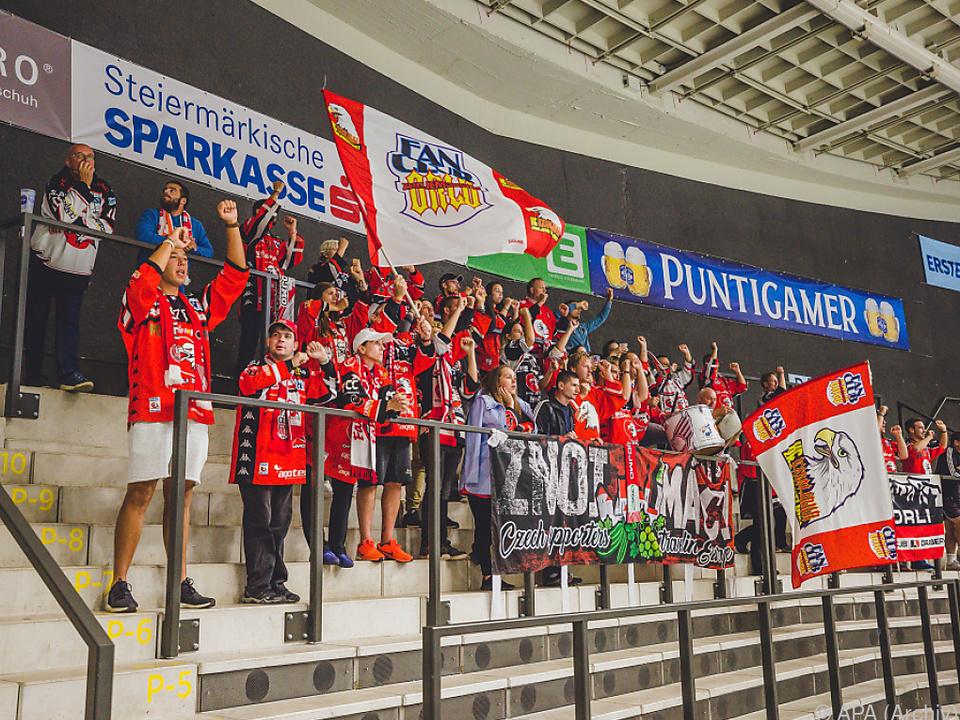 Kein Eishockey in Österreich für Znojmo-Fans