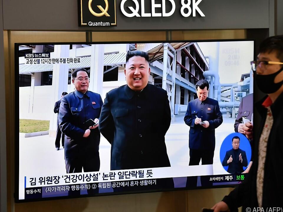 Kim Jong-un wurde wieder gesichtet