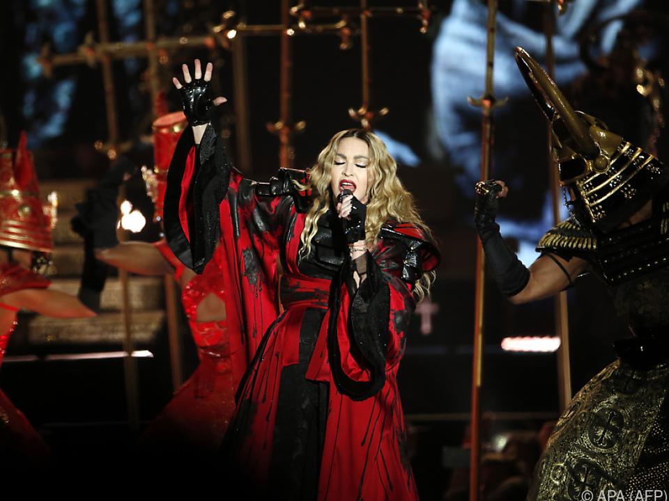 Madonna hat Anitkörper gegen SARS-Cov-2