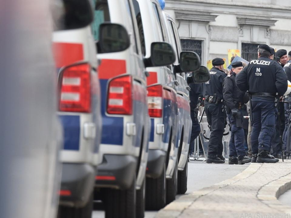 Mehrere Polizeieinheiten im Einsatz