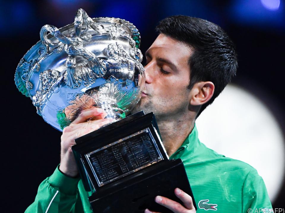 Melbourne-Titelverteidiger Novak Djokovic