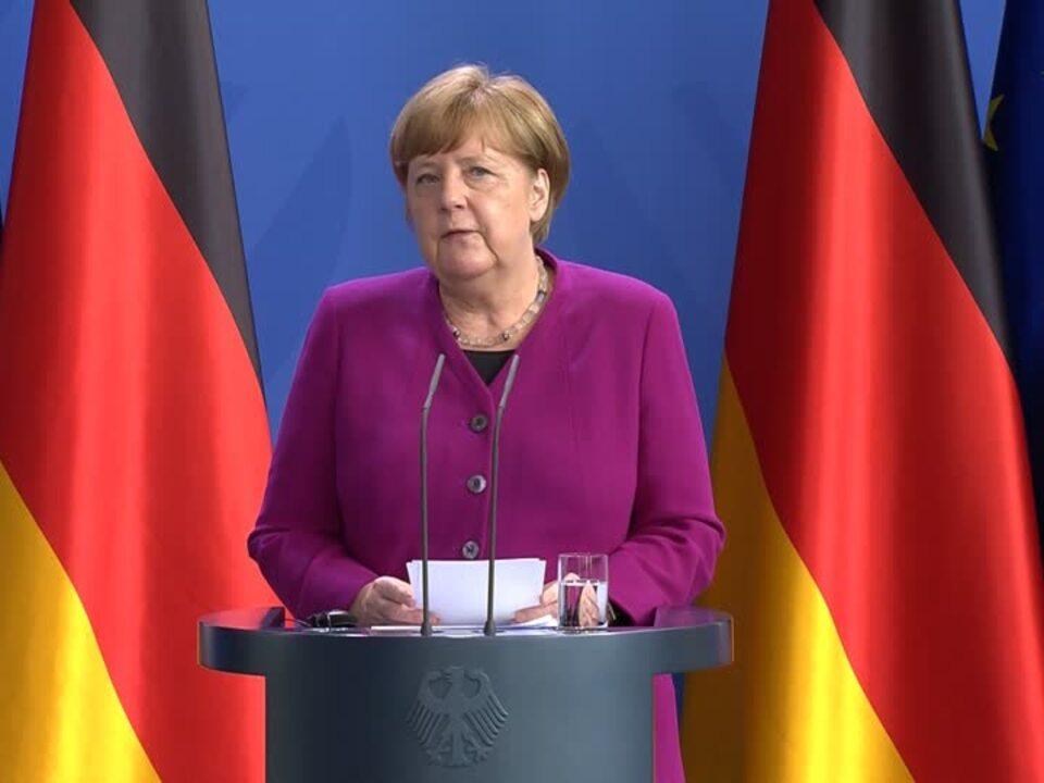 Merkel und Macron schlagen EU-Wiederaufbaufonds über 500 Milliarden Euro vor