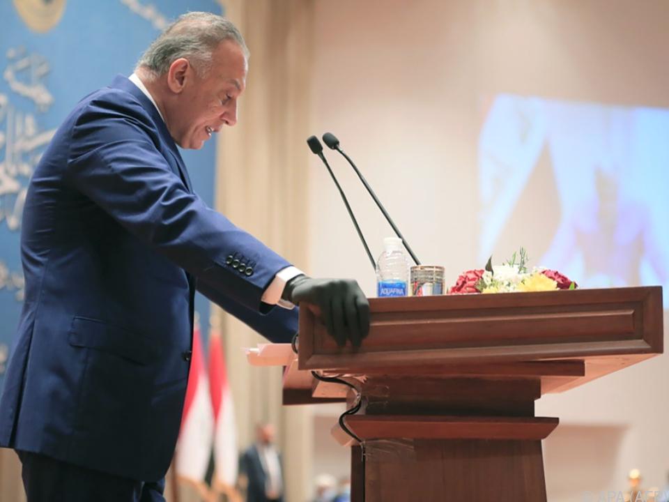 Ministerpräsident Kadhemi will Gefangene entlassen