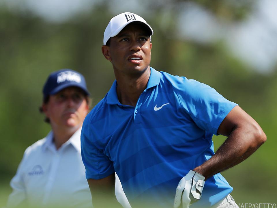 Mit dabei: Tiger Woods