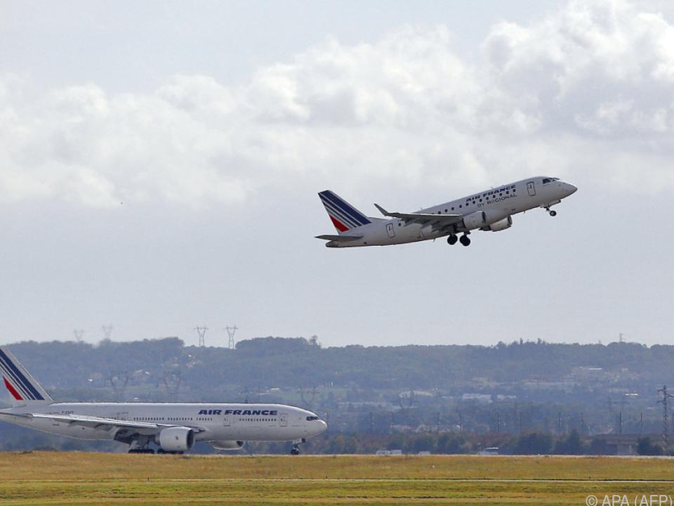 Mithilfe von EU-Krediten soll die Air France wieder abheben können