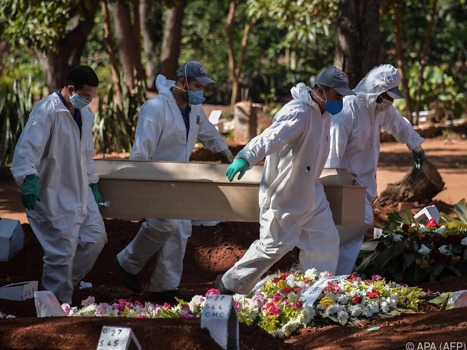 Mittlerweile mehr als 22.000 Tote in Brasilien