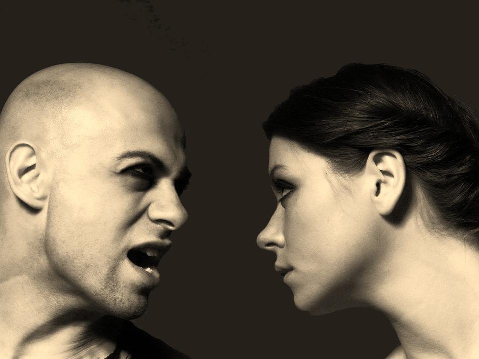Streit Mann Frau