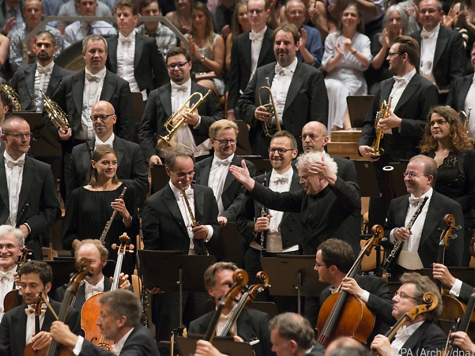 Musikalische Energie der Berliner Philharmoniker sichtbar gemacht