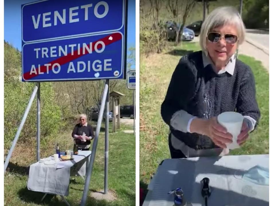 Mutter Sohn Pian delle fugazze