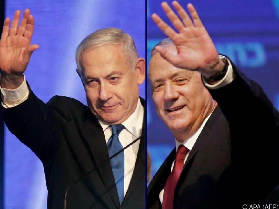 Netanyahu und Gantz sollen parallel eingeschworen werden