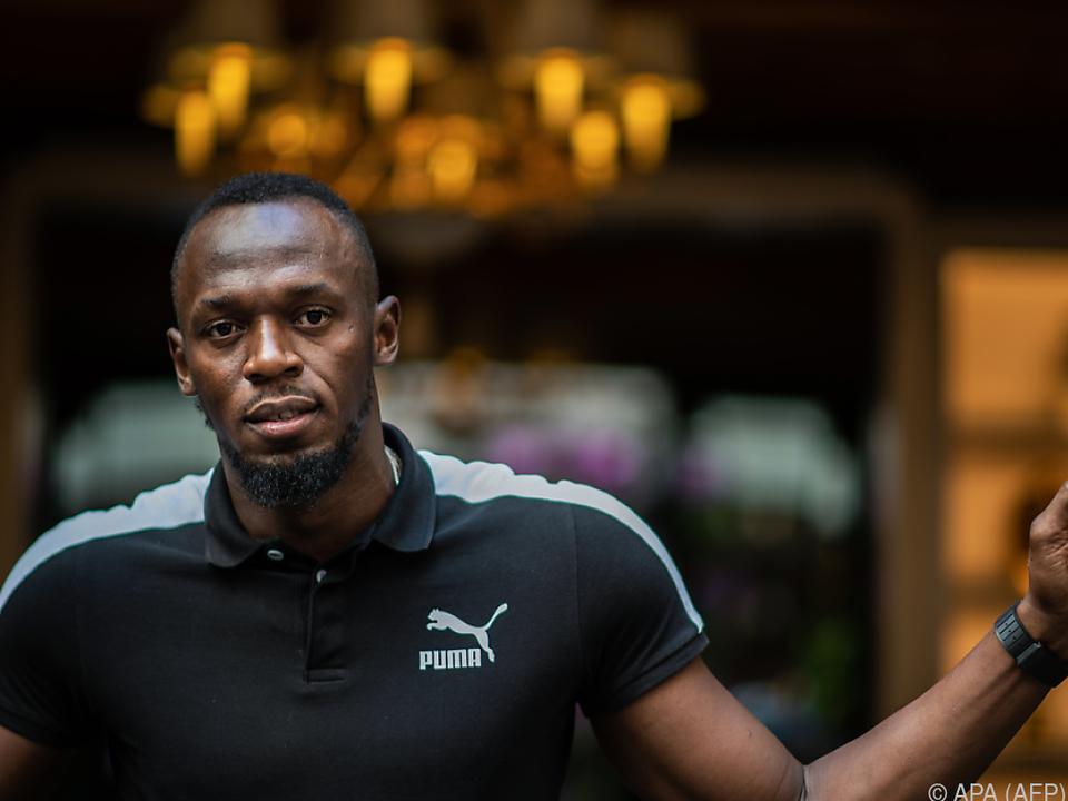 Neue Aufgabe für Usain Bolt