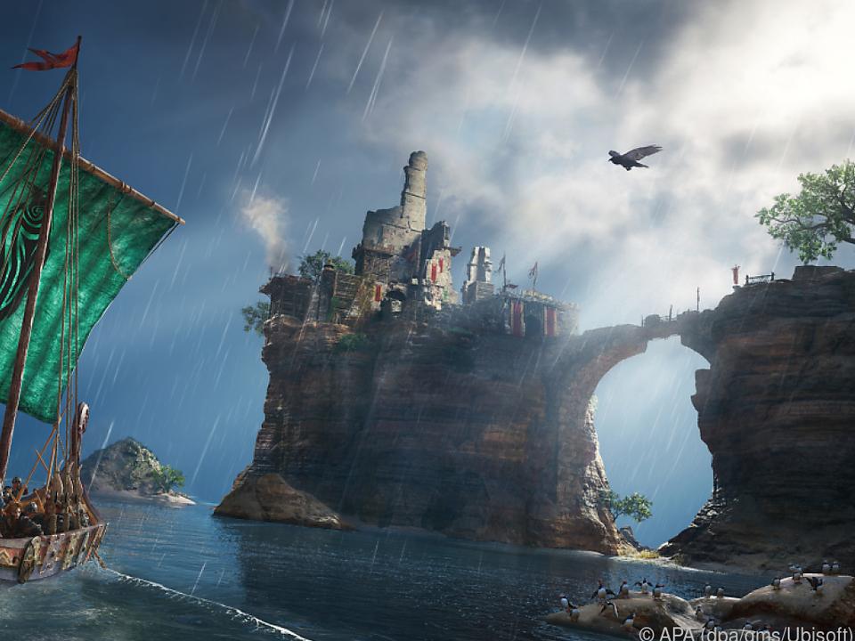 Unterwegs zur Kaperfahrt: Das Spiel ist in der Welt der Wikinger angesiedelt