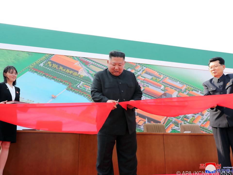 Nordkoreas Diktator tauchte nach wochenlanger Abwesenheit wieder auf