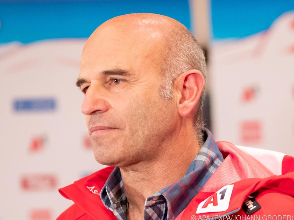ÖSV-Sportdirektor Toni Giger bestätigte die Angaben