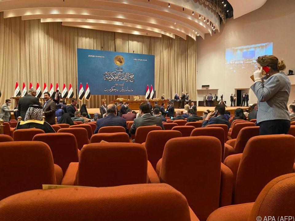 Parlament sprach Al-Kadhimi Vertrauen aus
